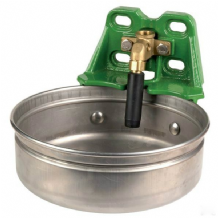 Drinking bowl with tube valve
